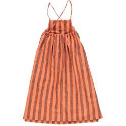 piupiuchick long balloon dress orangeade