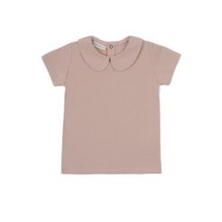 Phil & Phae Collar Tee Vintage Blush s/s
