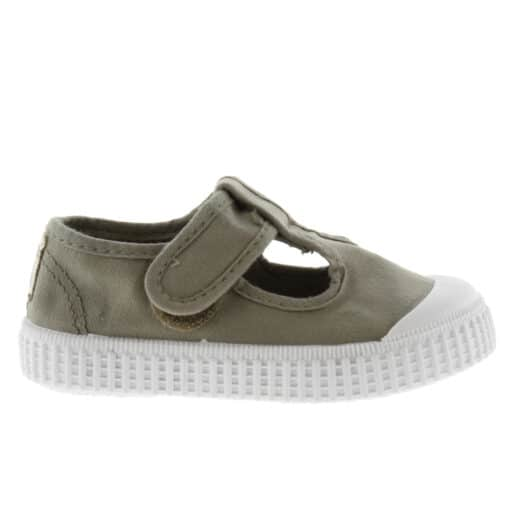 Victoria T-band Sneakers Aloe