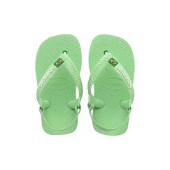 Havaianas Baby Brasil Logo Hydro Green