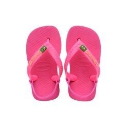 Havaianas Baby Brasil Logo Pink Flux