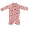 Beach & Bandits Pink Rainbow Babysuit