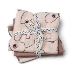 Done by Deer Swaddle 3-pack Powder