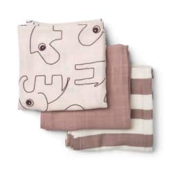 Done by Deer Swaddle 3-pack Powder 70x70