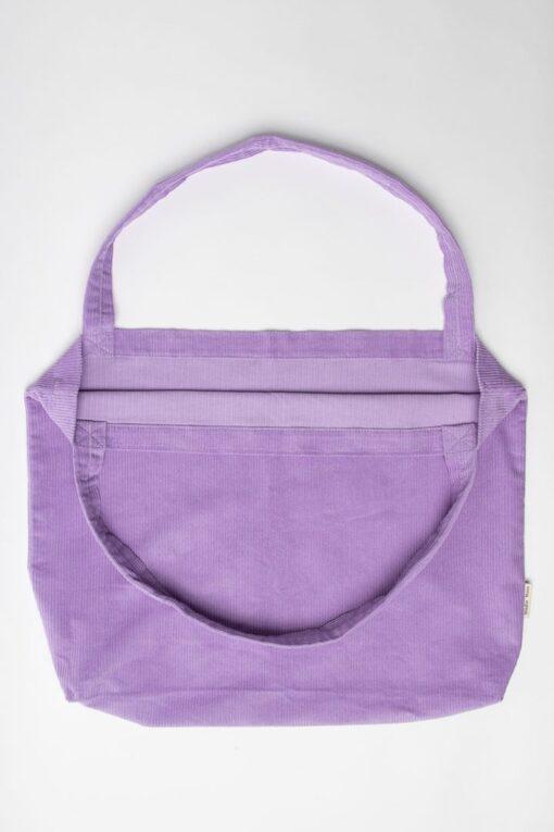 Studio noos lilac rib mom bag4