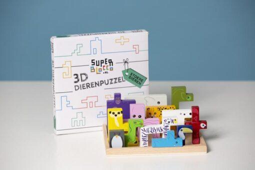 Super Blocco 3D Dierenpuzzel
