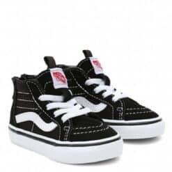 Vans TD SK8-Hi Zip Black White