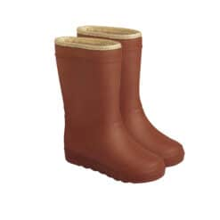 Enfant thermoboots Glitter Leather Brown