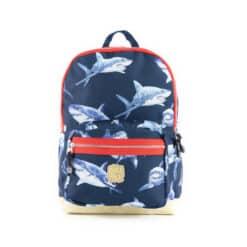 Pick & Pack Shark Backpack Navy M